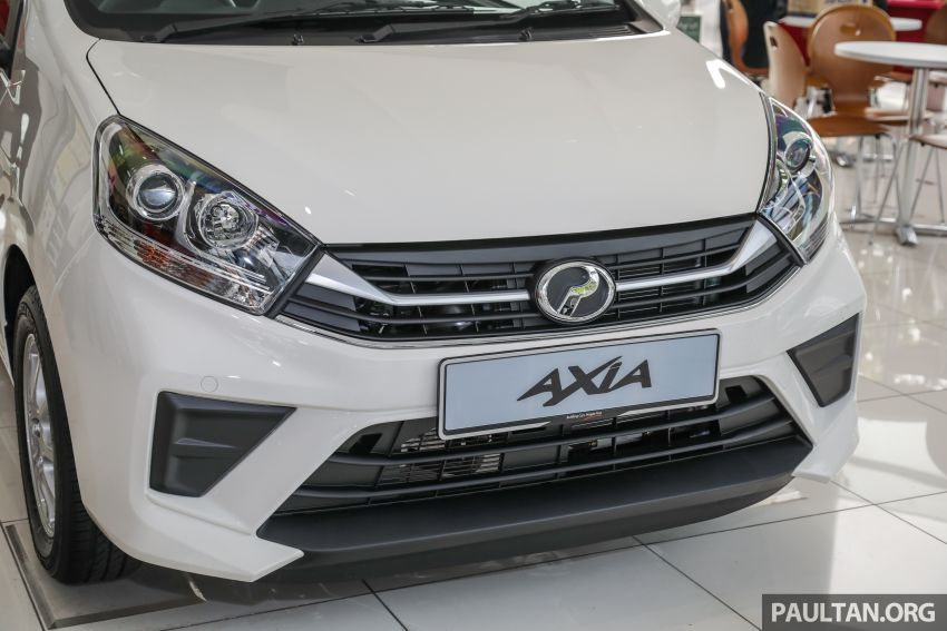 2019 Perodua Axia launched – 6 variants, new SUV-inspired 'Style' model, VSC and ASA, RM24k to RM43k Image #1018385