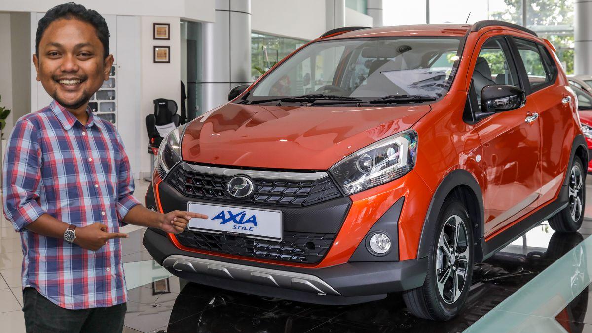 TINJAUAN AWAL: Perodua Axia facelift 2019