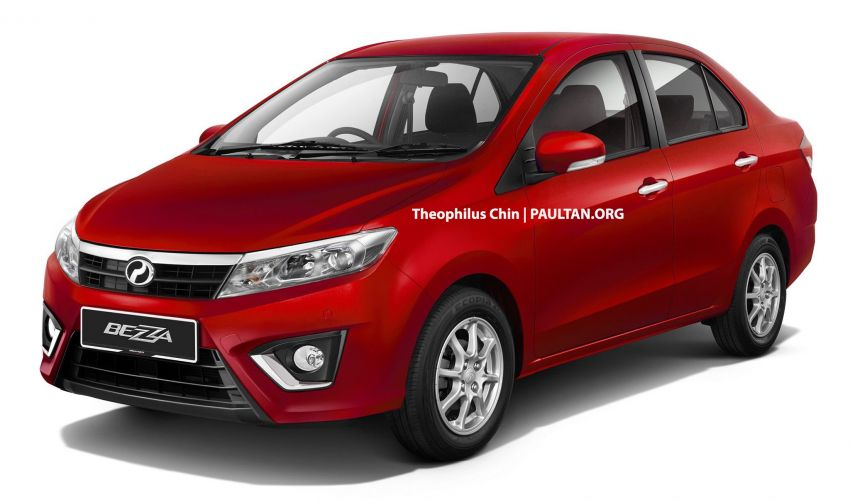 2020 Perodua Bezza facelift imagined – time for one? Image #1010081