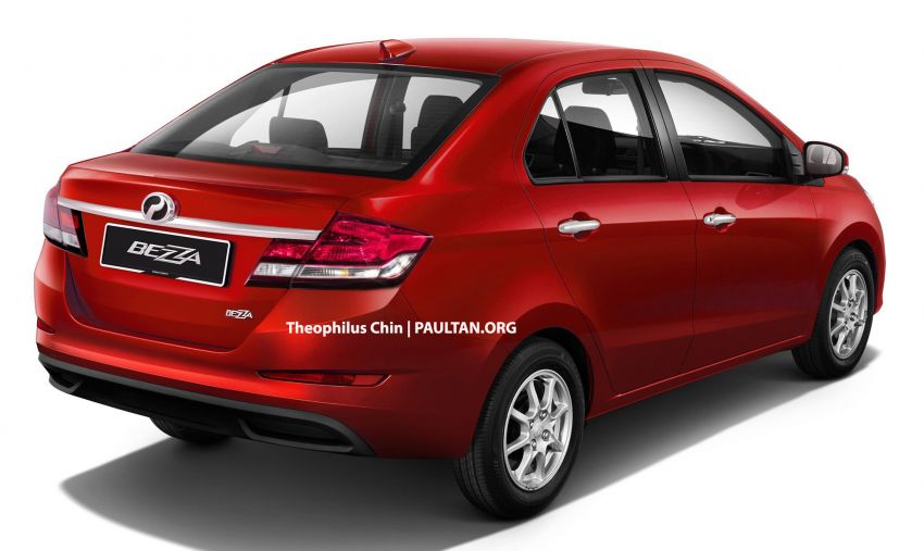 2020 Perodua Bezza facelift imagined – time for one? Image #1010082