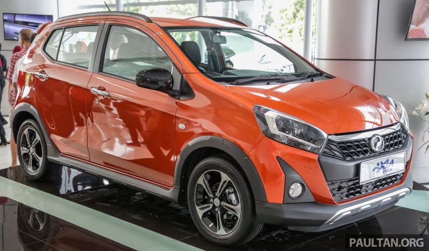 2019 Perodua Axia launched – 6 variants, new SUV-inspired 'Style' model, VSC and ASA, RM24k to RM43k Image #1018501