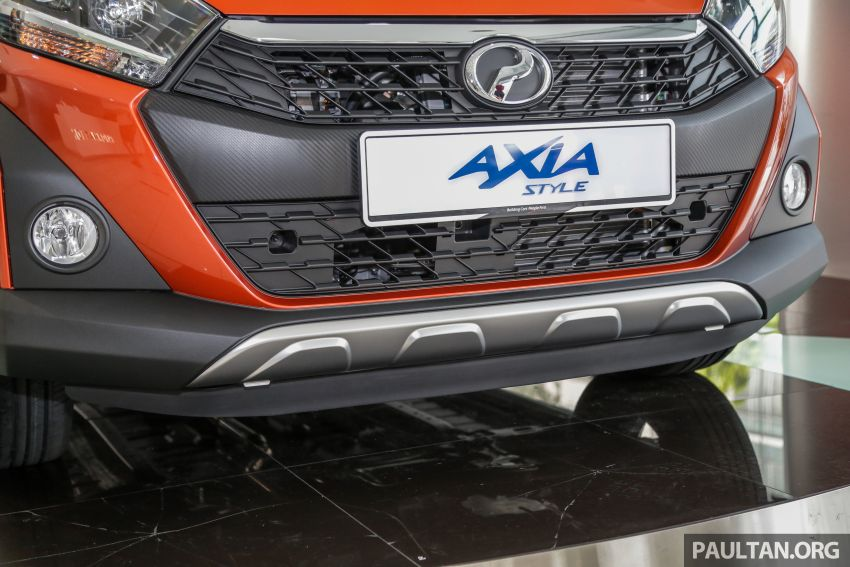 2019 Perodua Axia launched – 6 variants, new SUV-inspired 'Style' model, VSC and ASA, RM24k to RM43k Image #1018516