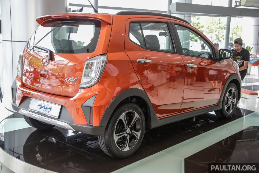 2019 Perodua Axia launched – 6 variants, new SUV-inspired 'Style' model, VSC and ASA, RM24k to RM43k Image #1018504