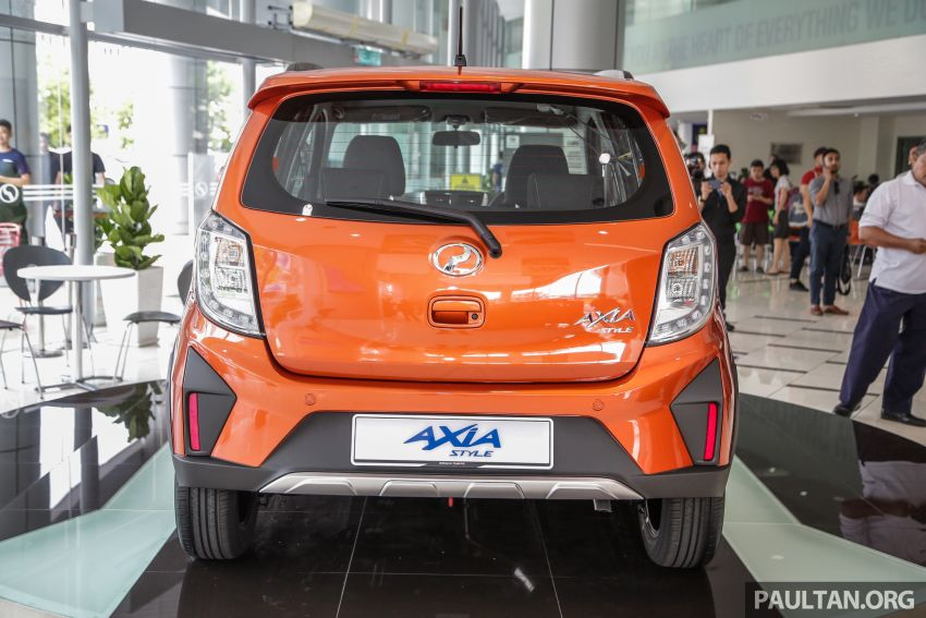 2019 Perodua Axia launched – 6 variants, new SUV-inspired 'Style' model, VSC and ASA, RM24k to RM43k Image #1018508
