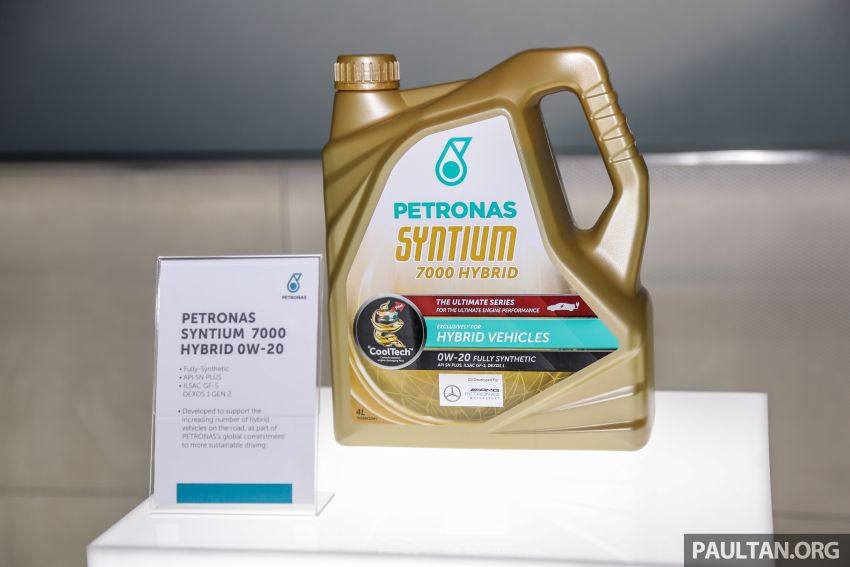 Petronas launches Syntium 7000 Hybrid 0W-20 lubricant – Petronas' first hybrid-specific engine oil Image #1020386
