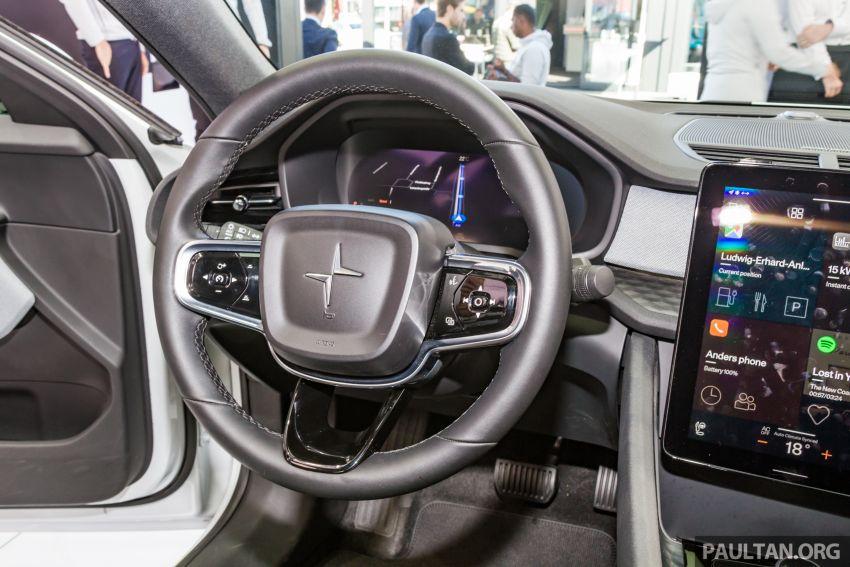 Polestar 2 EV displayed at Frankfurt – 408 hp, 660 Nm! Image #1014575
