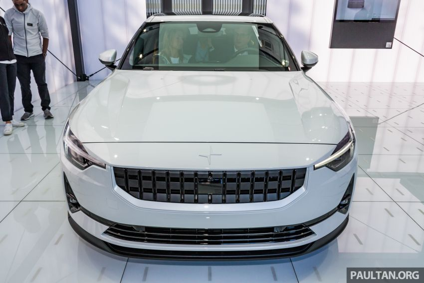 Polestar 2 EV displayed at Frankfurt – 408 hp, 660 Nm! Image #1014555
