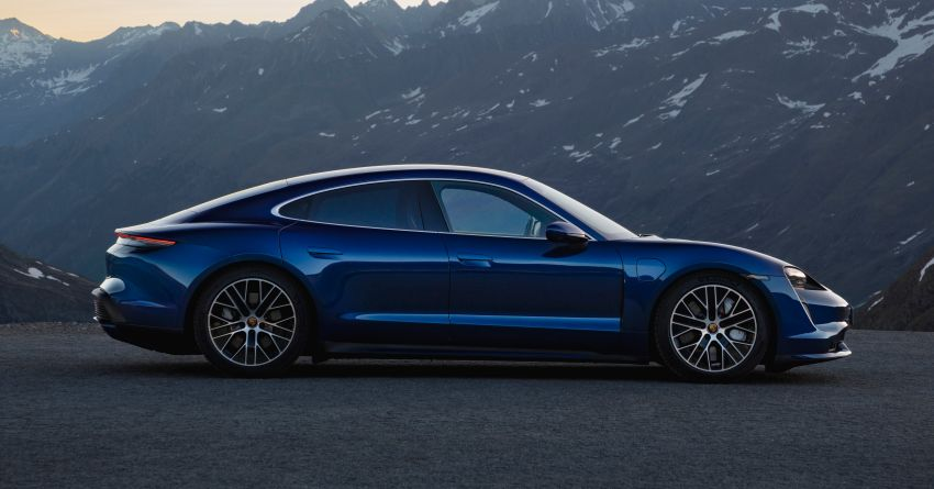 Porsche Taycan debuts – up to 761 PS, 1,050 Nm, 0-100 km/h in 2.8 seconds, 260 km/h, 450 km WLTP Image #1011003