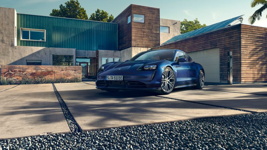 Porsche Taycan debuts – up to 761 PS, 1,050 Nm, 0-100 km/h in 2.8 seconds, 260 km/h, 450 km WLTP Image #1011004