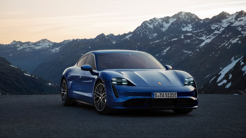 Porsche Taycan debuts – up to 761 PS, 1,050 Nm, 0-100 km/h in 2.8 seconds, 260 km/h, 450 km WLTP Image #1011005