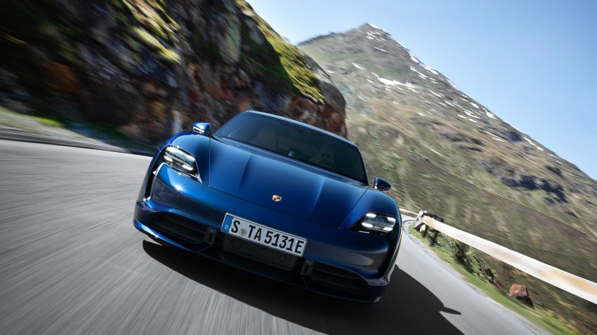 Porsche Taycan debuts – up to 761 PS, 1,050 Nm, 0-100 km/h in 2.8 seconds, 260 km/h, 450 km WLTP Image #1011006