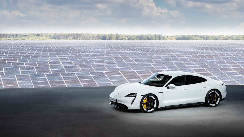 Porsche Taycan debuts – up to 761 PS, 1,050 Nm, 0-100 km/h in 2.8 seconds, 260 km/h, 450 km WLTP Image #1011002
