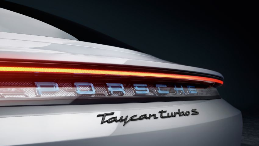 Porsche Taycan debuts – up to 761 PS, 1,050 Nm, 0-100 km/h in 2.8 seconds, 260 km/h, 450 km WLTP Image #1010995