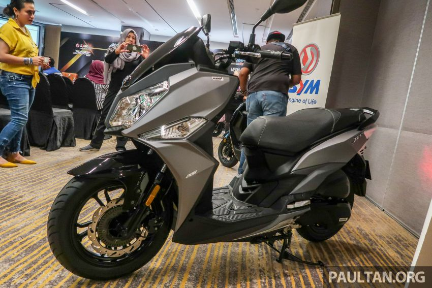 2019 SYM Jet14 200 and Mio 110 now in Malaysia, priced at RM7,888 and RM5,888 respectively Image #1019155