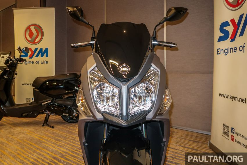2019 SYM Jet14 200 and Mio 110 now in Malaysia, priced at RM7,888 and RM5,888 respectively Image #1019174