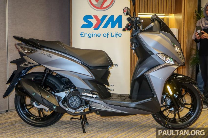 2019 SYM Jet14 200 and Mio 110 now in Malaysia, priced at RM7,888 and RM5,888 respectively Image #1019156