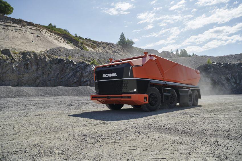 Scania AXL – trak autonomous tanpa tempat pemandu Image #1023015