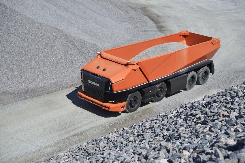 Scania AXL – trak autonomous tanpa tempat pemandu Image #1023016