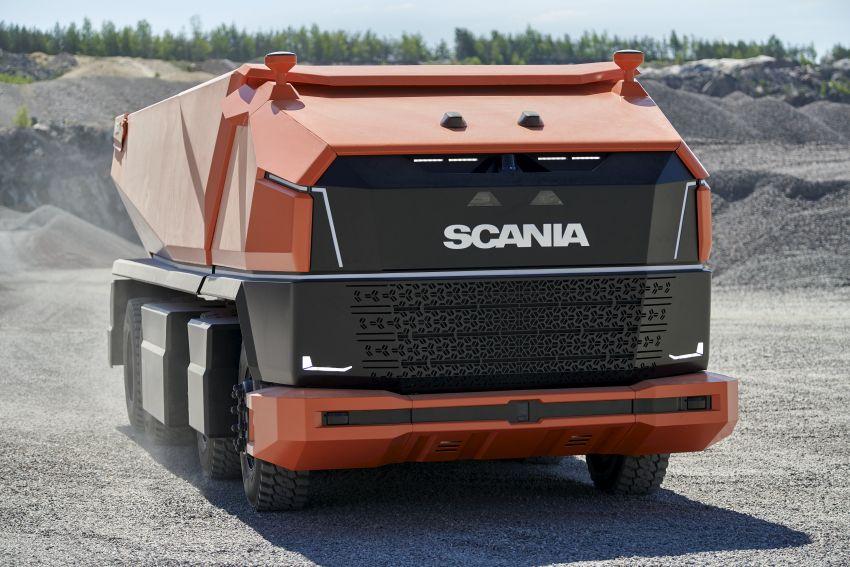 Scania AXL – trak autonomous tanpa tempat pemandu Image #1023019