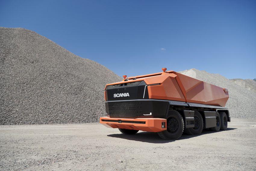 Scania AXL – trak autonomous tanpa tempat pemandu Image #1023022