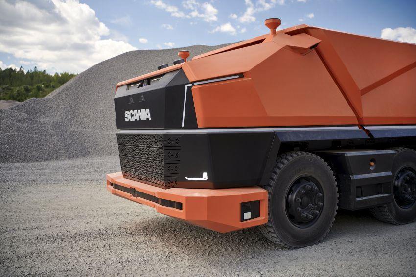 Scania AXL – trak autonomous tanpa tempat pemandu Image #1023023