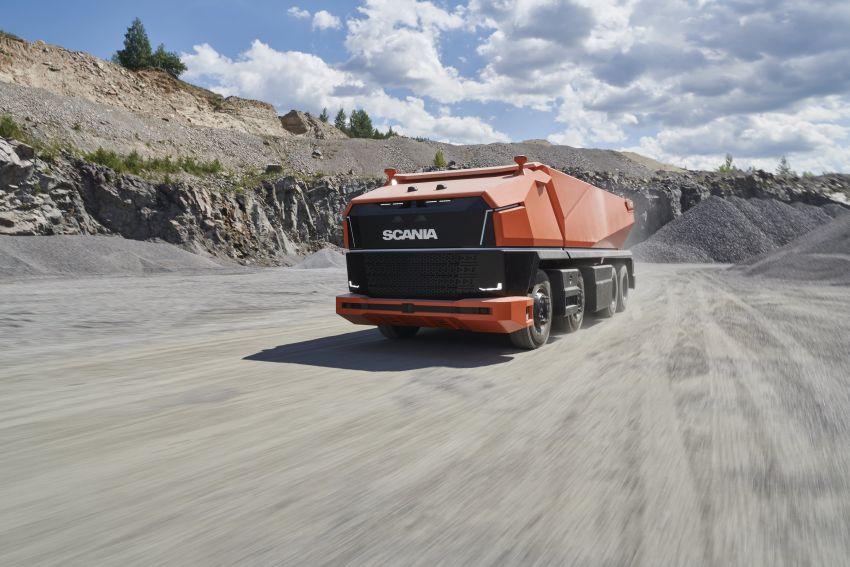 Scania AXL – trak autonomous tanpa tempat pemandu Image #1023027