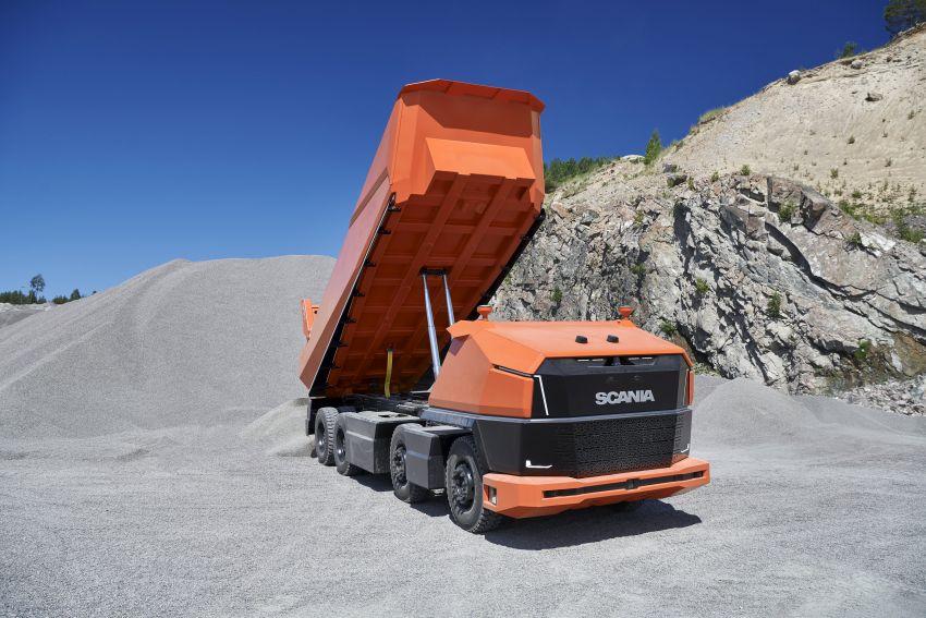 Scania AXL – trak autonomous tanpa tempat pemandu Image #1023030