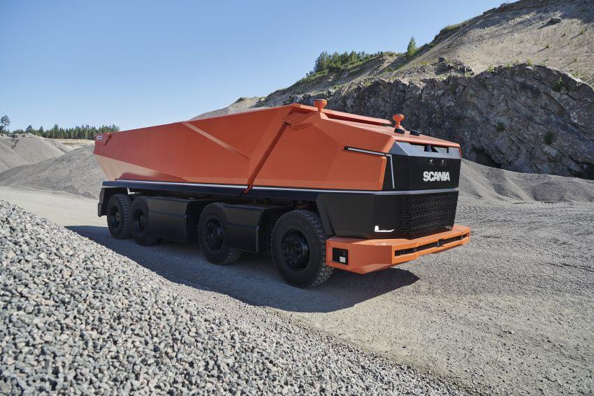 Scania AXL – trak autonomous tanpa tempat pemandu Image #1023008
