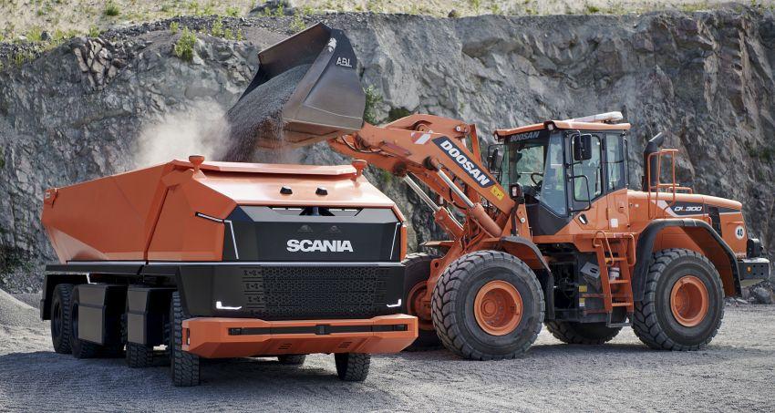 Scania AXL – trak autonomous tanpa tempat pemandu Image #1023009