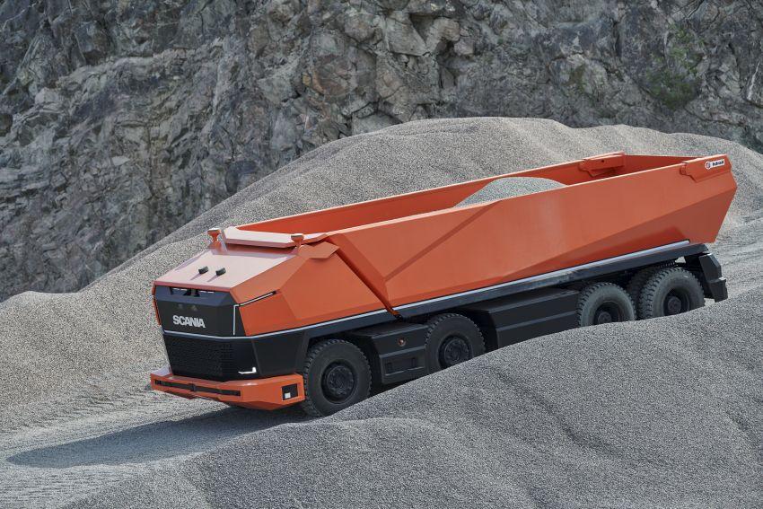 Scania AXL – trak autonomous tanpa tempat pemandu Image #1023011