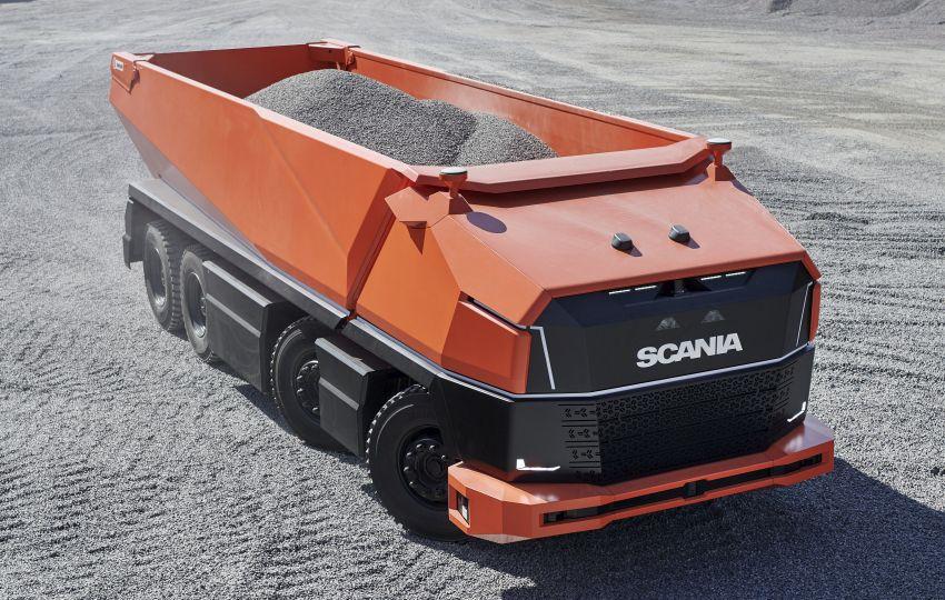 Scania AXL – trak autonomous tanpa tempat pemandu Image #1023012
