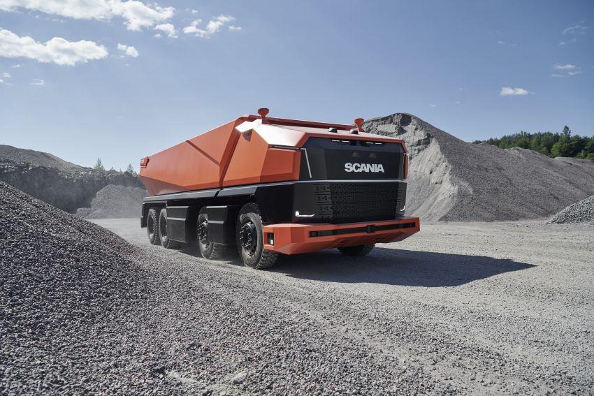 Scania AXL – trak autonomous tanpa tempat pemandu Image #1023013