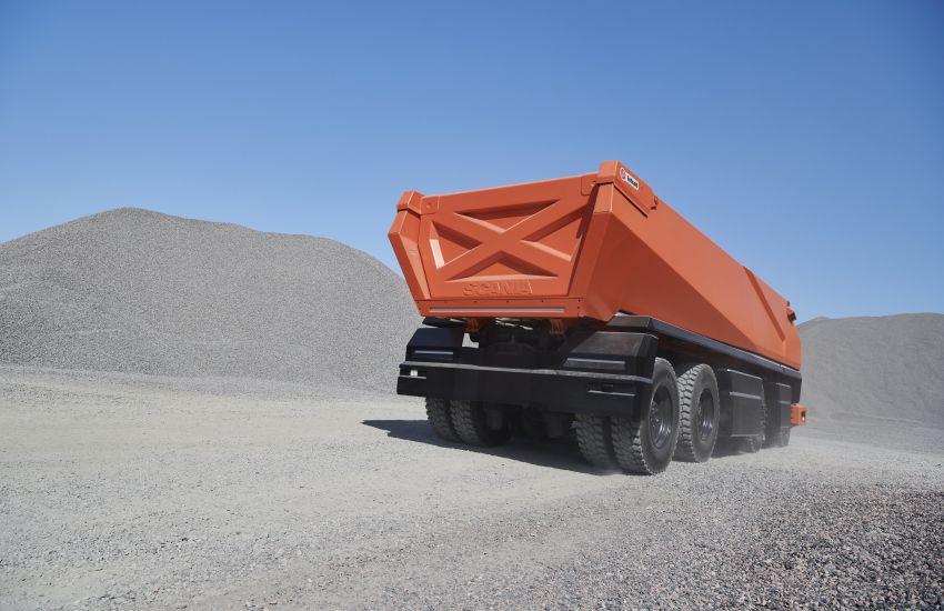 Scania AXL – trak autonomous tanpa tempat pemandu Image #1023014