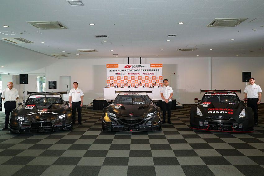Honda NSX, Nissan GT-R Nismo dan Toyota GR Supra Super GT 2020 didedah – 3 gergasi berentap kembali! Image #1015597