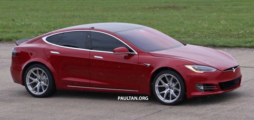 SPYSHOTS: Modified Tesla Model S testing near Nurburgring; lap record attempt, special edition soon? Image #1014526