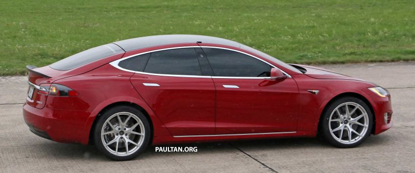 SPYSHOTS: Modified Tesla Model S testing near Nurburgring; lap record attempt, special edition soon? Image #1014528