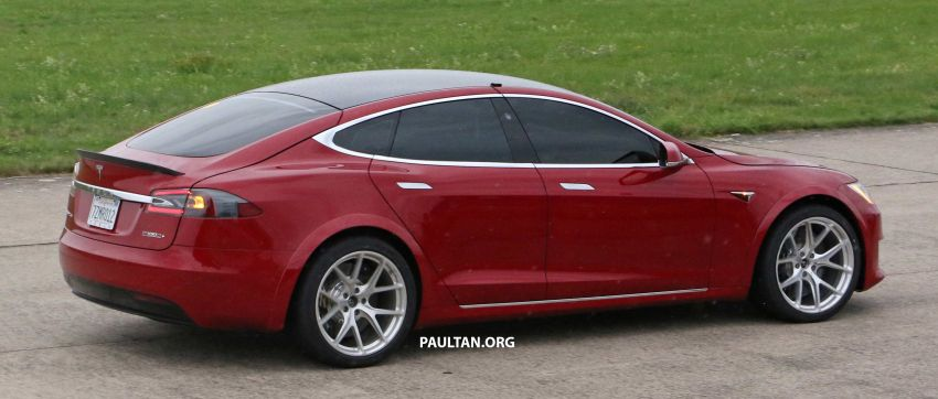 SPYSHOTS: Modified Tesla Model S testing near Nurburgring; lap record attempt, special edition soon? Image #1014531