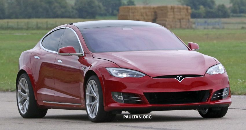 SPYSHOTS: Modified Tesla Model S testing near Nurburgring; lap record attempt, special edition soon? Image #1014517