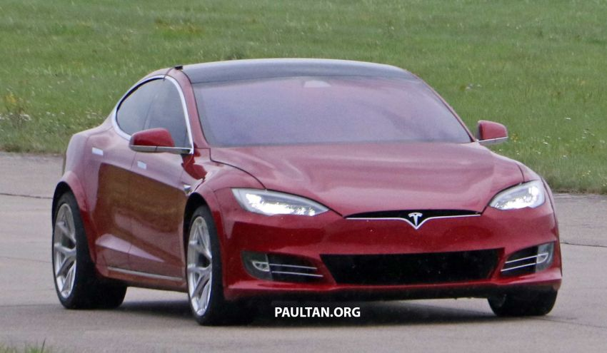 SPYSHOTS: Modified Tesla Model S testing near Nurburgring; lap record attempt, special edition soon? Image #1014522