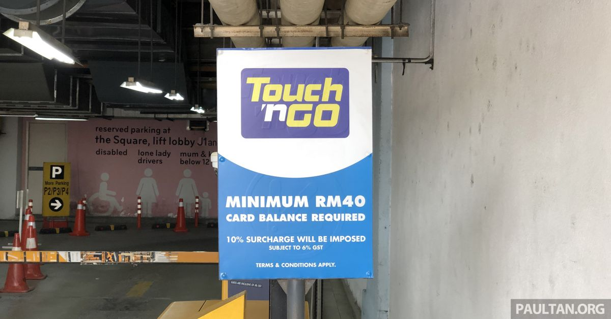 Touch n Go parking surcharge - why is this needed?