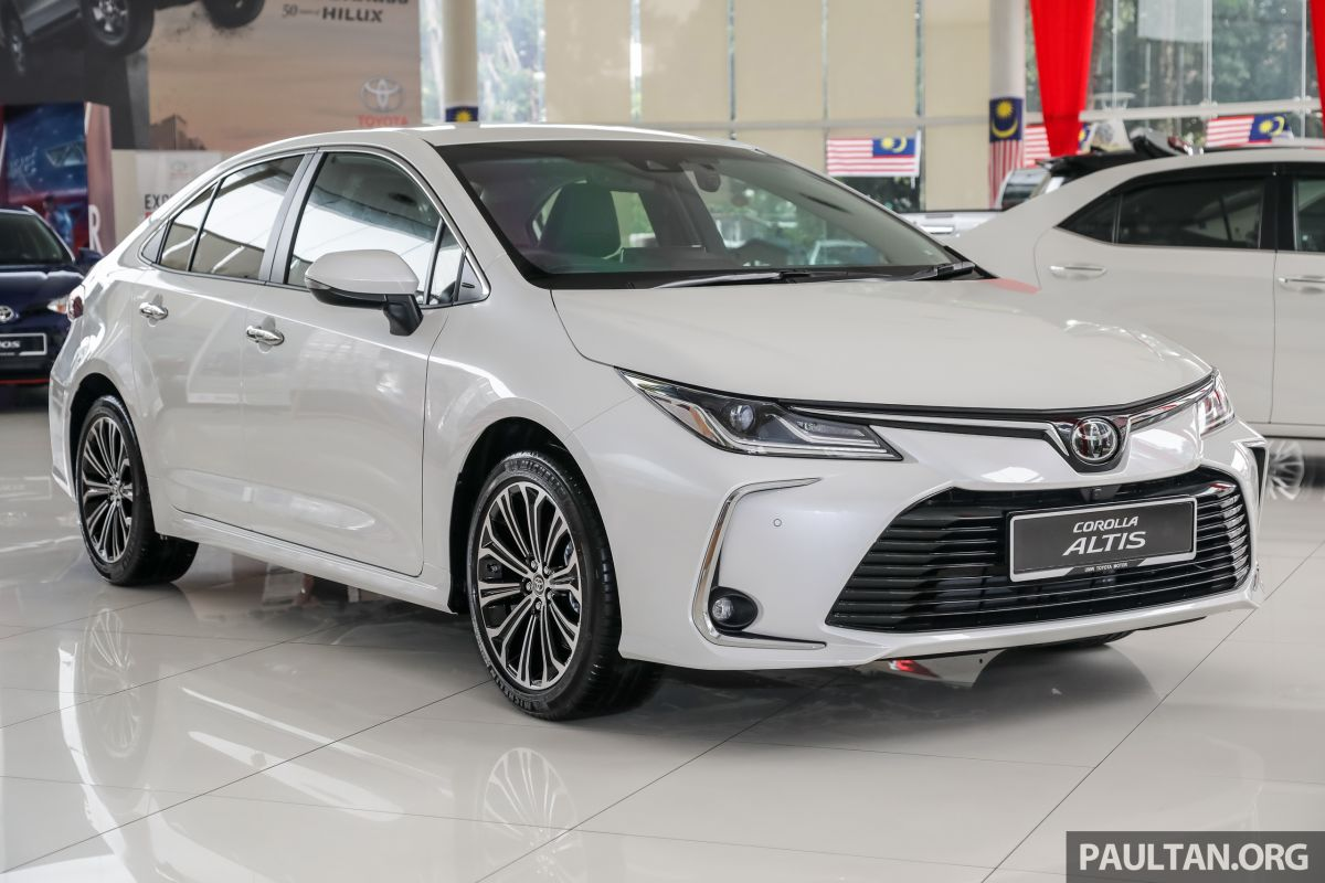 GALLERY: 2019 Toyota Corolla 1.8G - RM136,888 est Paul Tan ...