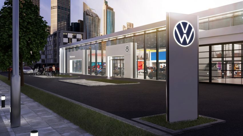 Volkswagen unveils new logo and CI, marks a new era Image #1011695