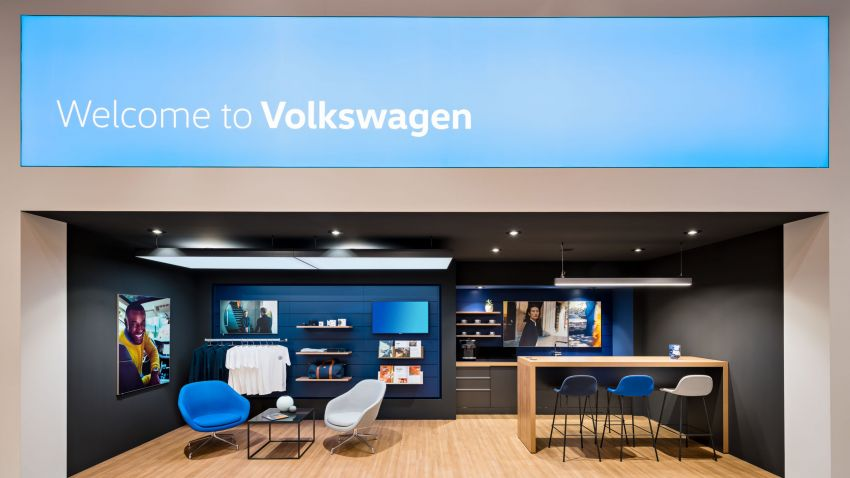 Volkswagen unveils new logo and CI, marks a new era Image #1011697
