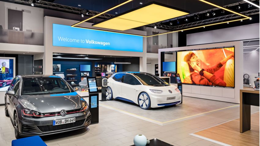 Volkswagen unveils new logo and CI, marks a new era Image #1011699