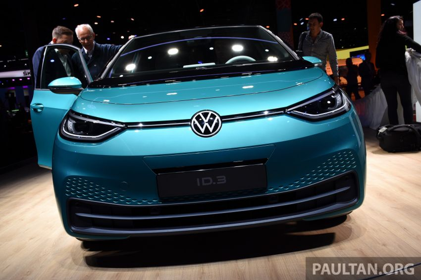Volkswagen ID.3 pure electric car debuts – rear-wheel drive, up to 550 km range; from RM138k in Germany Image #1011641