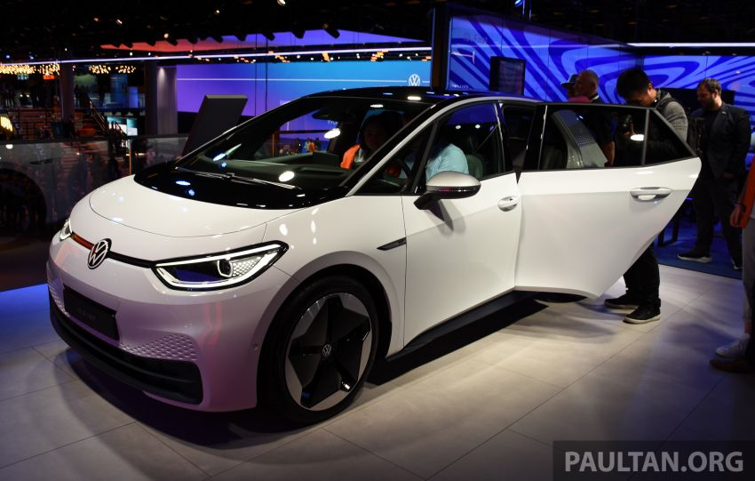 Volkswagen ID.3 pure electric car debuts – rear-wheel drive, up to 550 km range; from RM138k in Germany Image #1011644