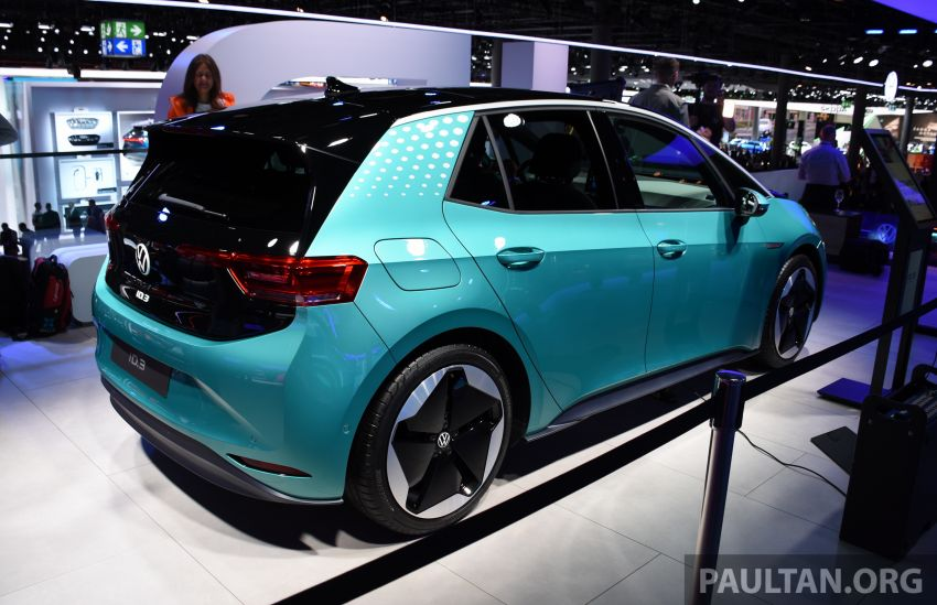 Volkswagen ID.3 pure electric car debuts – rear-wheel drive, up to 550 km range; from RM138k in Germany Image #1011646