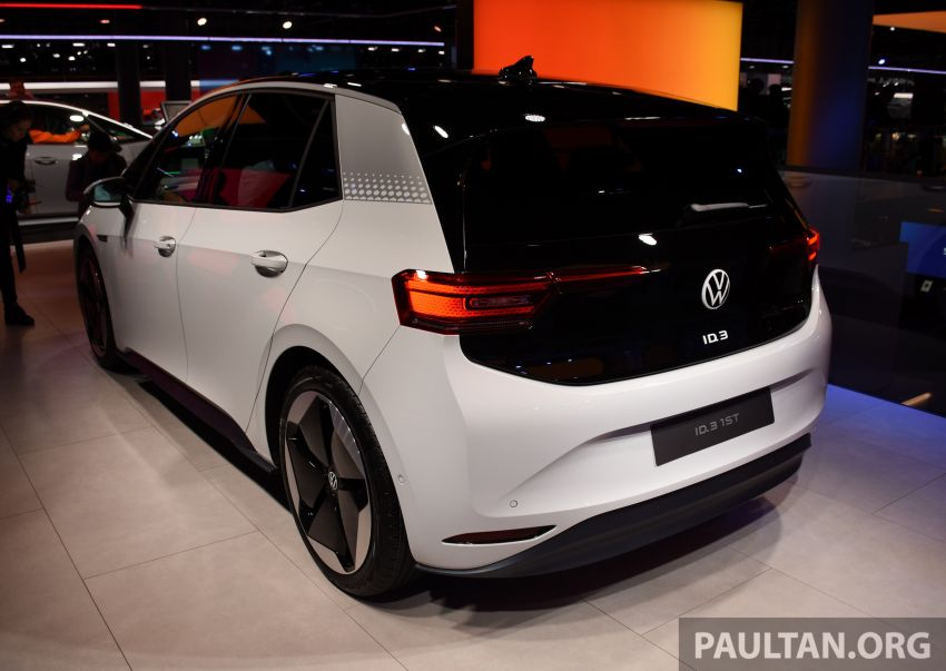 Volkswagen ID.3 pure electric car debuts – rear-wheel drive, up to 550 km range; from RM138k in Germany Image #1011647