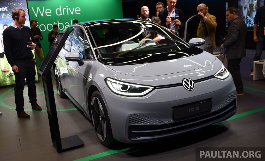Volkswagen ID.3 pure electric car debuts – rear-wheel drive, up to 550 km range; from RM138k in Germany Image #1011659