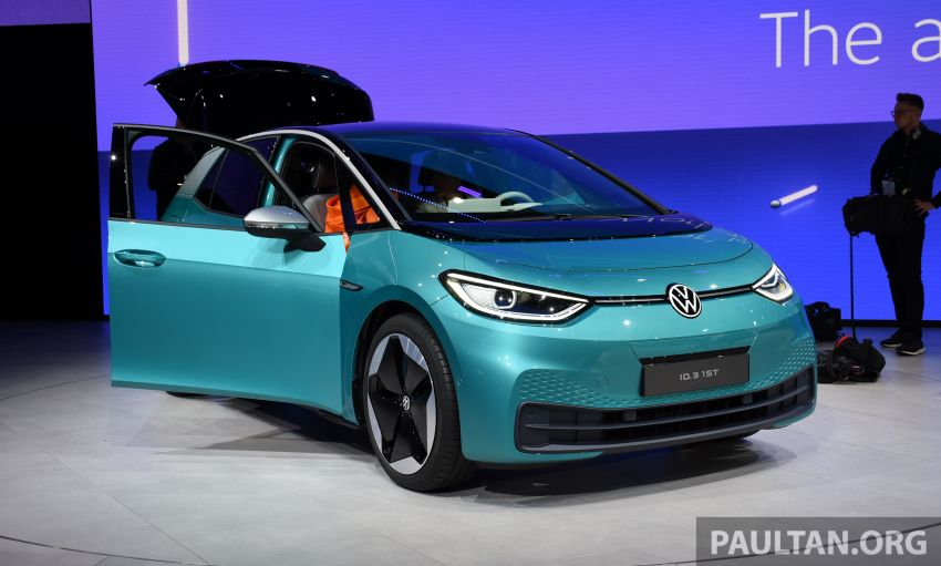 Volkswagen ID.3 pure electric car debuts – rear-wheel drive, up to 550 km range; from RM138k in Germany Image #1011632
